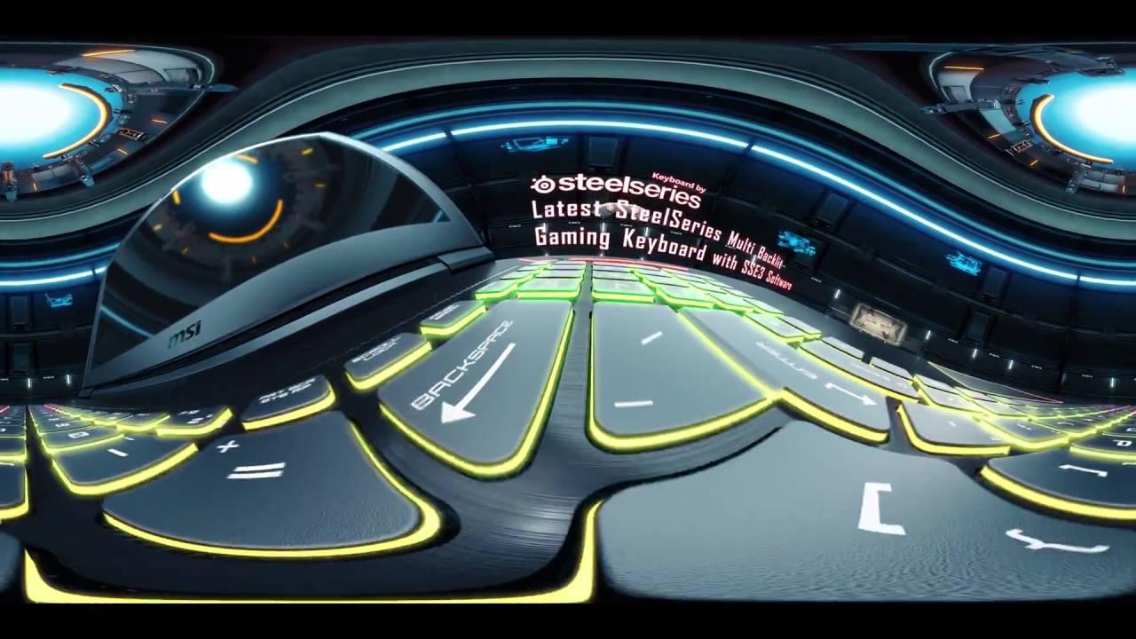 La réalité virtuelle sur le GT73VR Titan SLI