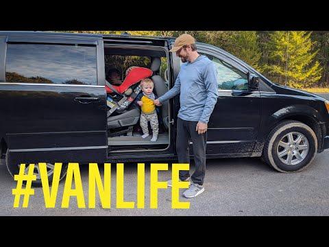 Van Life Chrysler Town & Country