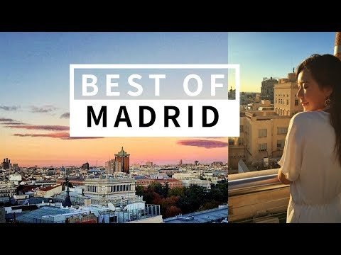BEST OF MADRID : Top Things To Do + Travel & Food Guide | April Qianqian