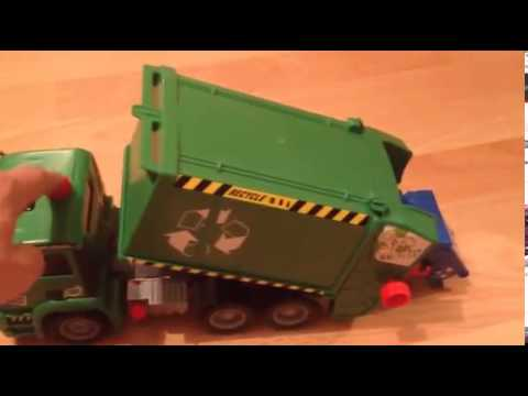 Dickie Toys Fire Engine Garbage Truck Train Lightning
