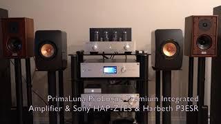 PrimaLuna ProLogue Premium Integrated Amplifier + Harbeth P3ESR - Sound Demo
