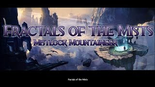 Guild Wars 2 - Jumping Puzzle - Mistlock Mountaineer + Diving Goggle