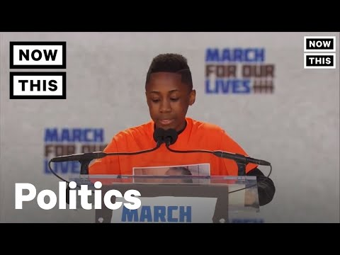 March For Our Lives: Students Demand Gun Reform Across the U.S. at More Than 800  Events | NowThis