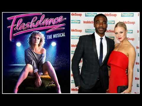 Ore Oduba interviewing Joanne Clifton talking Flashdance & Strictly