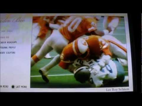 Lee Roy Selmon HOF Video & Bust