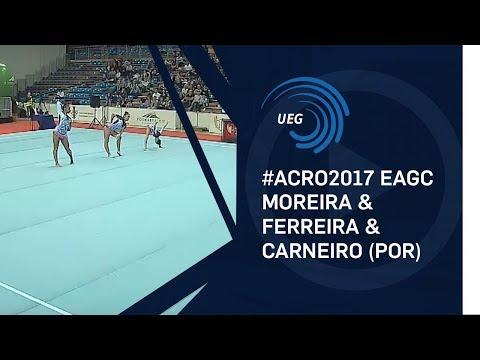 Women's group Portugal - 2017 Acro European Champions, junior balance
