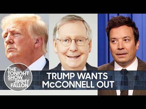 Trump Wants Mitch McConnell Out, Beto O'Rourke Wants to Be Texas Governor | The Tonight Show