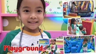 Zara Cute main di Playground | Nursery Rhymes Old MacDonald