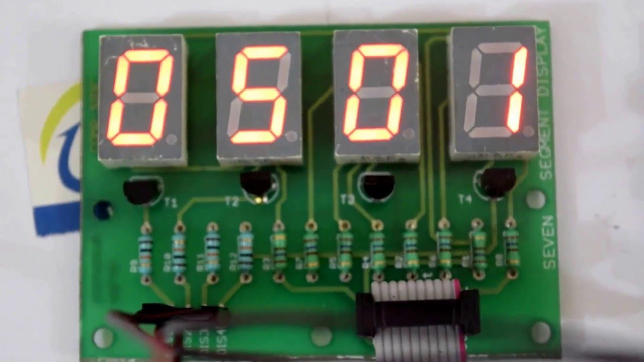 Ds1307 Rtc Interfacing With Avr Atmega16 Microcontroller And 7 Digit Segment Display Arduino Also Circuit 4026 By Ablab Solutions Youtube