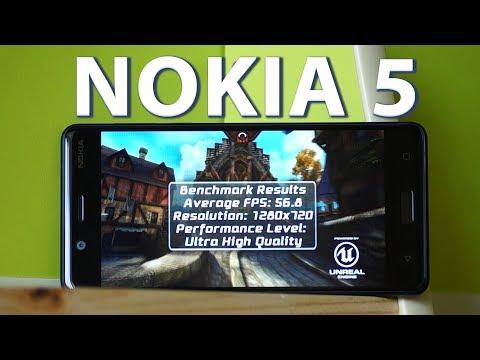 Тяжелые игры на Нокия 5. Nokia 5 gaming.