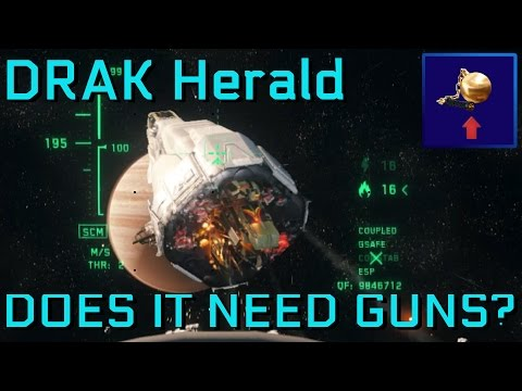 Herald Interdiction - Does it need guns? - Star Citizen