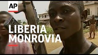 LIBERIA: MONROVIA: NEW ATTACK TARGETS REFUGEE BARRACKS thumbnail