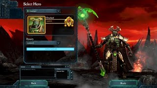 Dawn of War II Retribution: The Last Stand - Necron Overlord overview