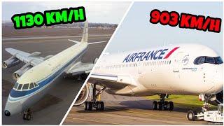 Dlaczego samoloty są coraz wolniejsze?