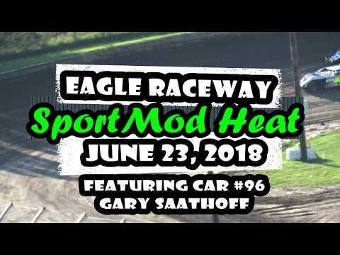 06/23/2018 Eagle Raceway SportMod Heat - #96