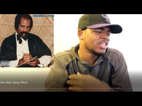 Drake - Glow feat  Kanye West | More Life | Reaction