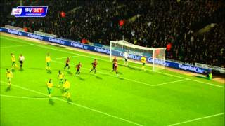 Norwich 3-3 Brighton - Sky Bet Championship Season 2014-15
