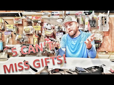 5 TOP GIFTS For The Fisherman Who Has Everything - Best Fishing Gifts 2019 - Holiday Buyer's Guide