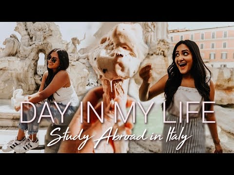 DAY IN MY LIFE STUDY ABROAD IN ITALY Cinematic Vlog   EF Internation Language Campuses