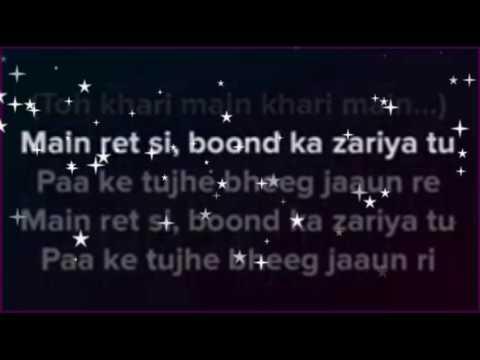 sun sathiya   karaoke with lyrics   clean instrumental   ABCD movie   shraddha kapoor   varun dhavan