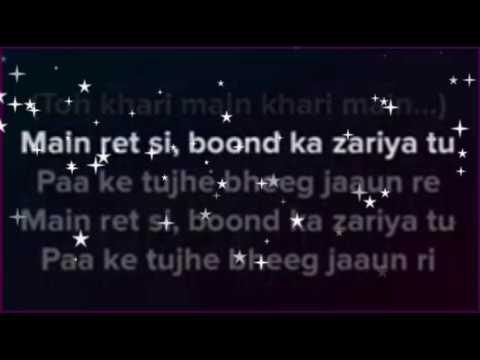 sun sathiya | karaoke with lyrics | clean instrumental | ABCD movie | shraddha kapoor | varun dhavan