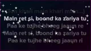 sun sathiya | karaoke with lyrics | clean instrumental | ABCD movie | shraddha kapoor | varun dhavan