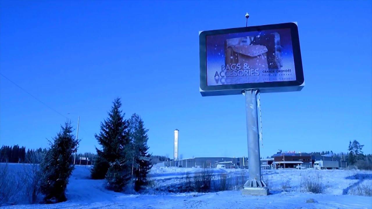 Proses Pembuatan Konstruksi Papan Iklan Videotron Led Billboard By
