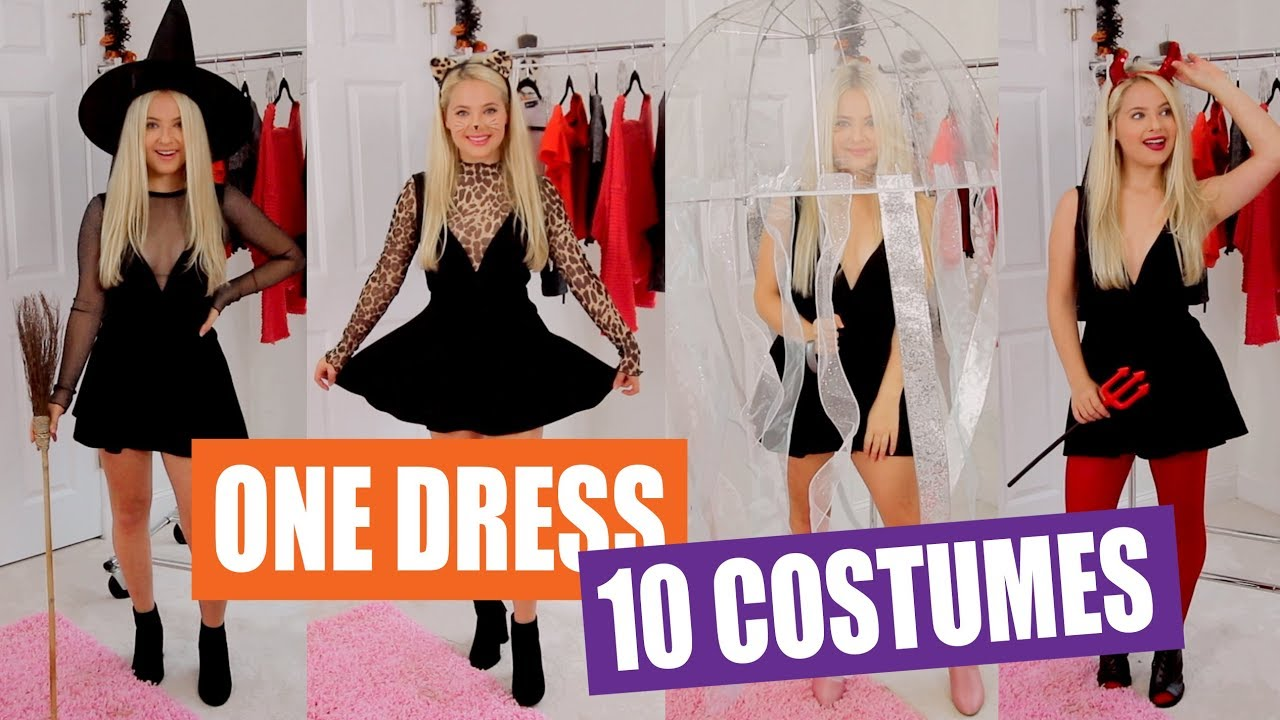 16 Black Dress Halloween Costume Ideas