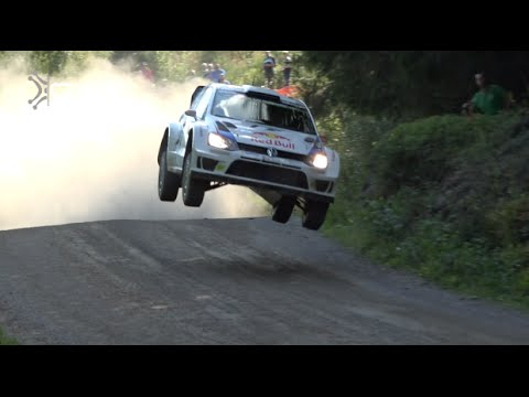 WRC Finland Rally 2014 | Jumps, Drifts & Close Calls | Pure Sounds [HD]