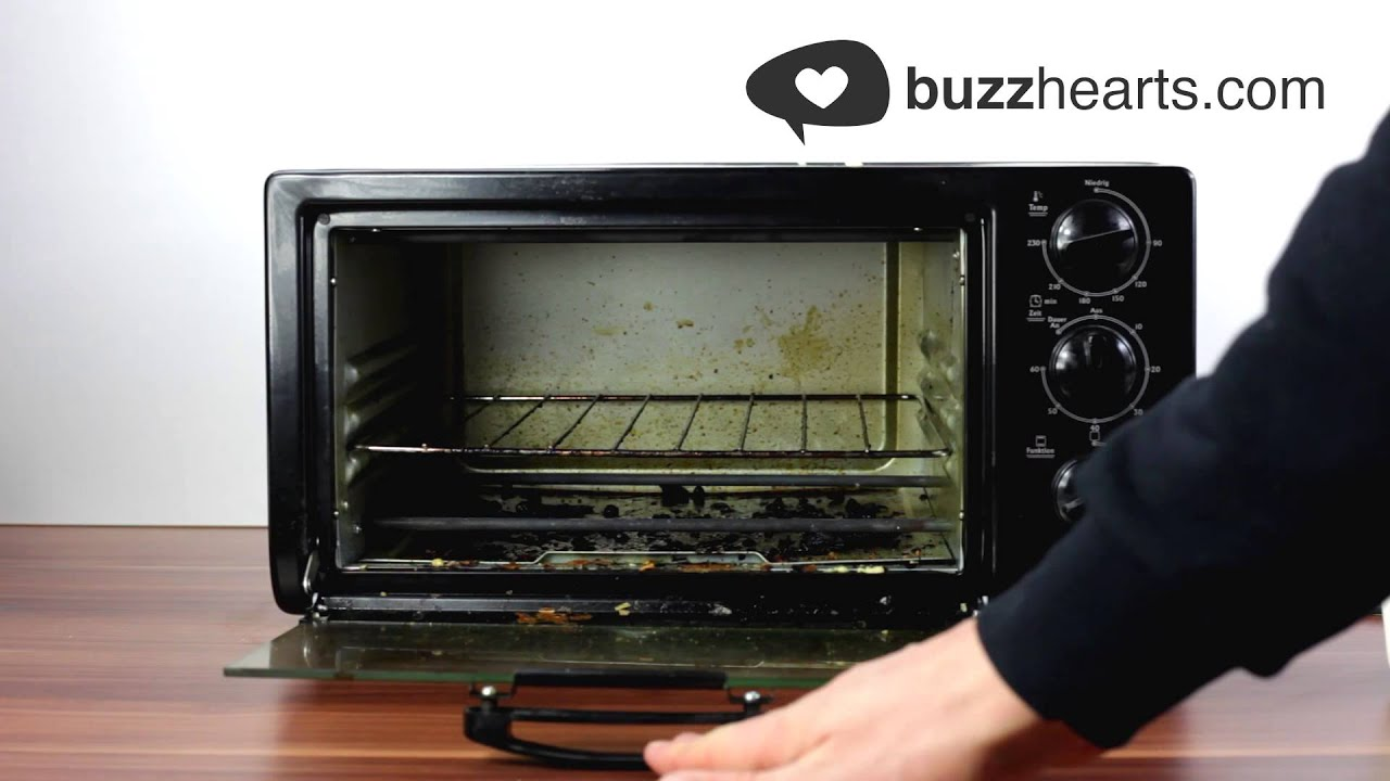 The Best Way To Clean Your Oven Lifehack Youtube