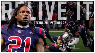 Relive It || Houston Texans defeat Tom Brady, New England Patriots