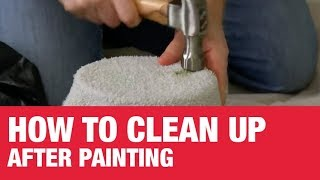 How To Clean Up After Painting - Ace Hardware