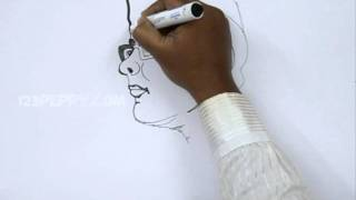 How to Draw Subash Chandra Bose