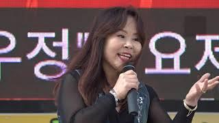 가수 신주희 꽃잎 한 .일 우정가요제 대한가수협회 인천 중동구분회