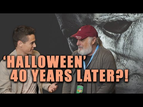 Halloween's ORIGINAL Michael Myers - Nick Castle