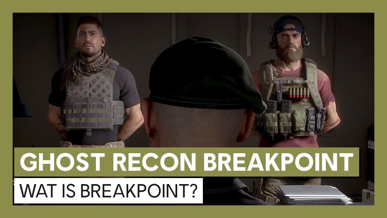 Ghost Recon Breakpoint: Wat is Breakpoint? Gameplay Trailer