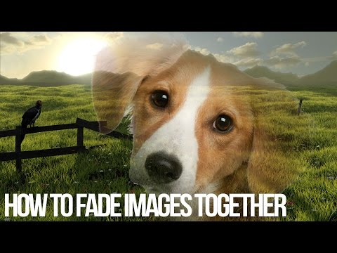 How To Fade Two Images Together In Photoshop - Photoshop Tutorial