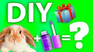 DIY: НОВОГОДНИЕ ПОДАРКИ своими руками ЗА 5 МИНУТ(Как сделать классный DIY? Мы сделаем новогодние подарки своими руками всего за 5 минут. Рекомендую крутые..., 2016-12-22T12:47:35.000Z)