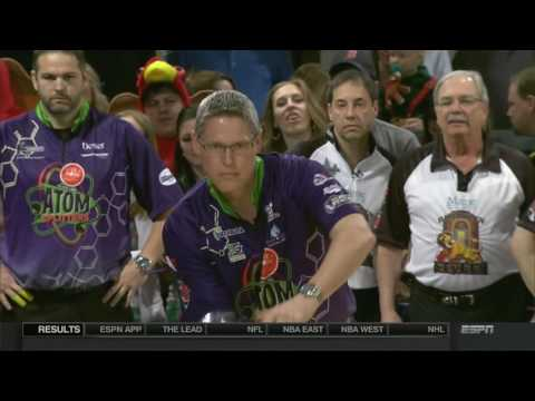 2017 L.L.Bean PBA League Quarterfinals - Atom Splitters vs. Styles, Lumberjacks vs. Muscle