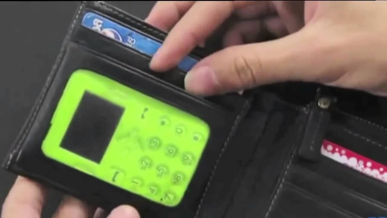 CardPhone: el teléfono de 29 euros del tamaño de una tarjeta de crédito Maxresdefault