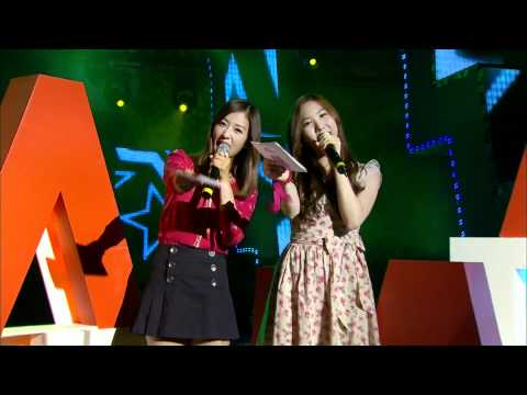 [CUT] MC Bomi (윤보미) and MC Yookyung (홍유경) - MTV 'THE M' EP2