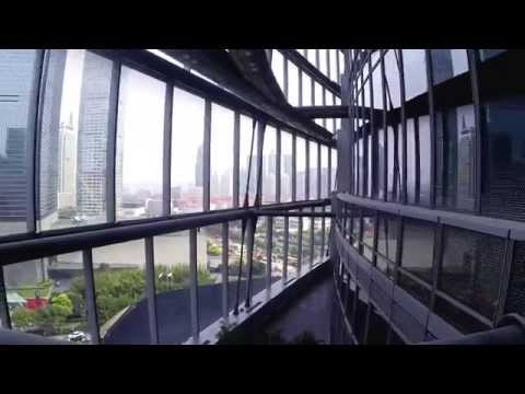 A Rare Look Inside Shanghai Tower