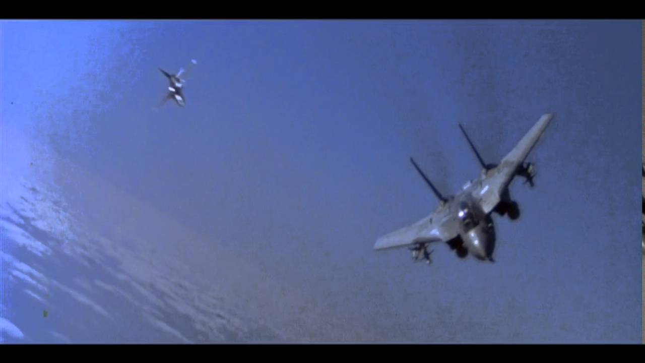 Top Gun Opening Scene