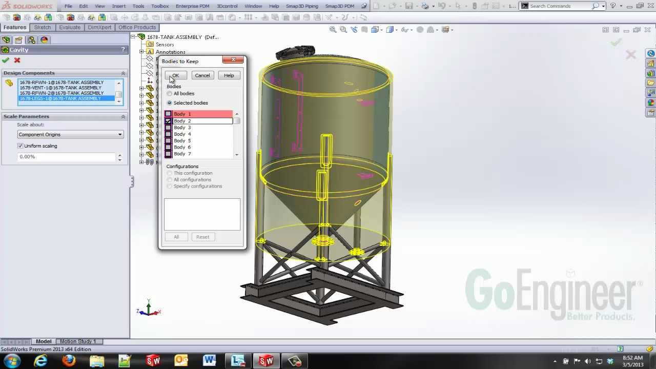 Solidworks assembly volume study youtube ccuart Image collections