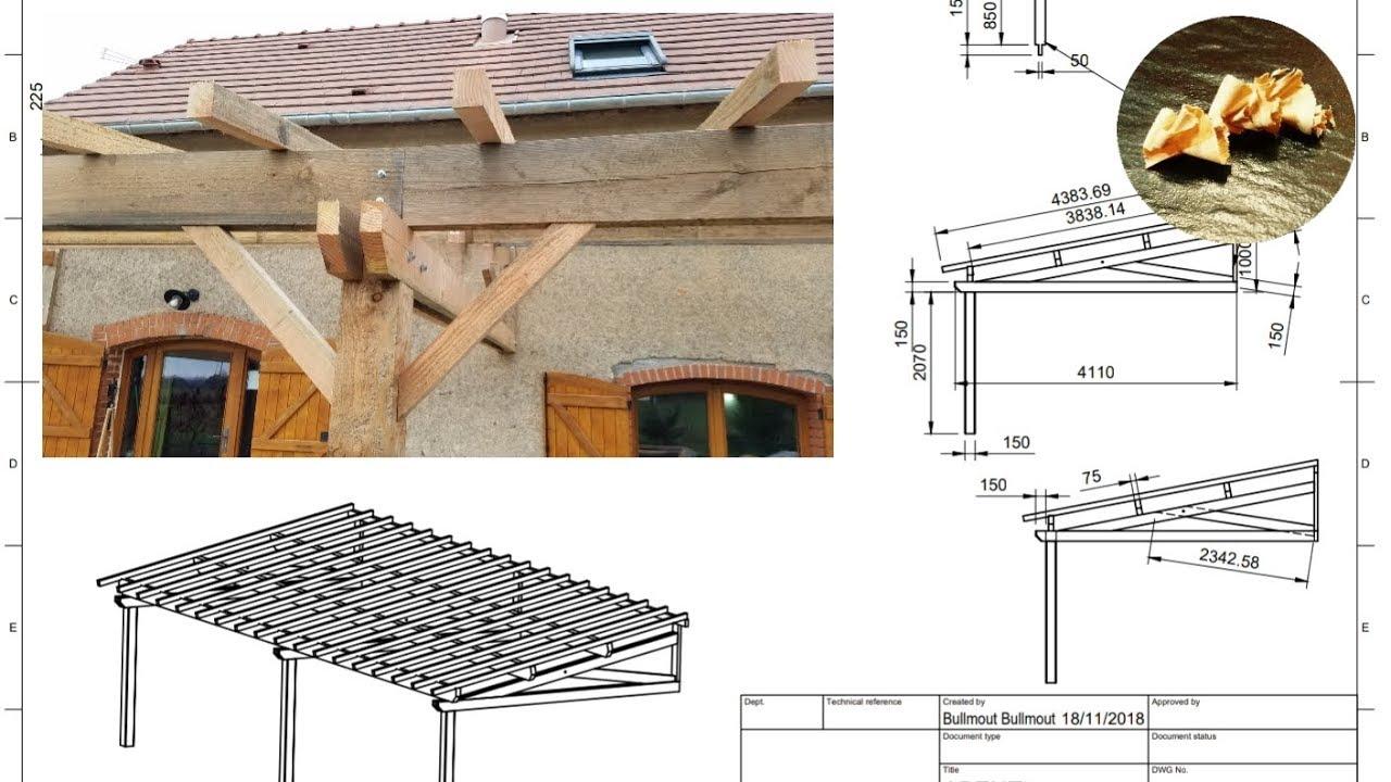 fabrication d 39 un appentis partie 1 youtube. Black Bedroom Furniture Sets. Home Design Ideas
