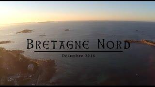 Paysages de la Bretagne Nord avec un drone !