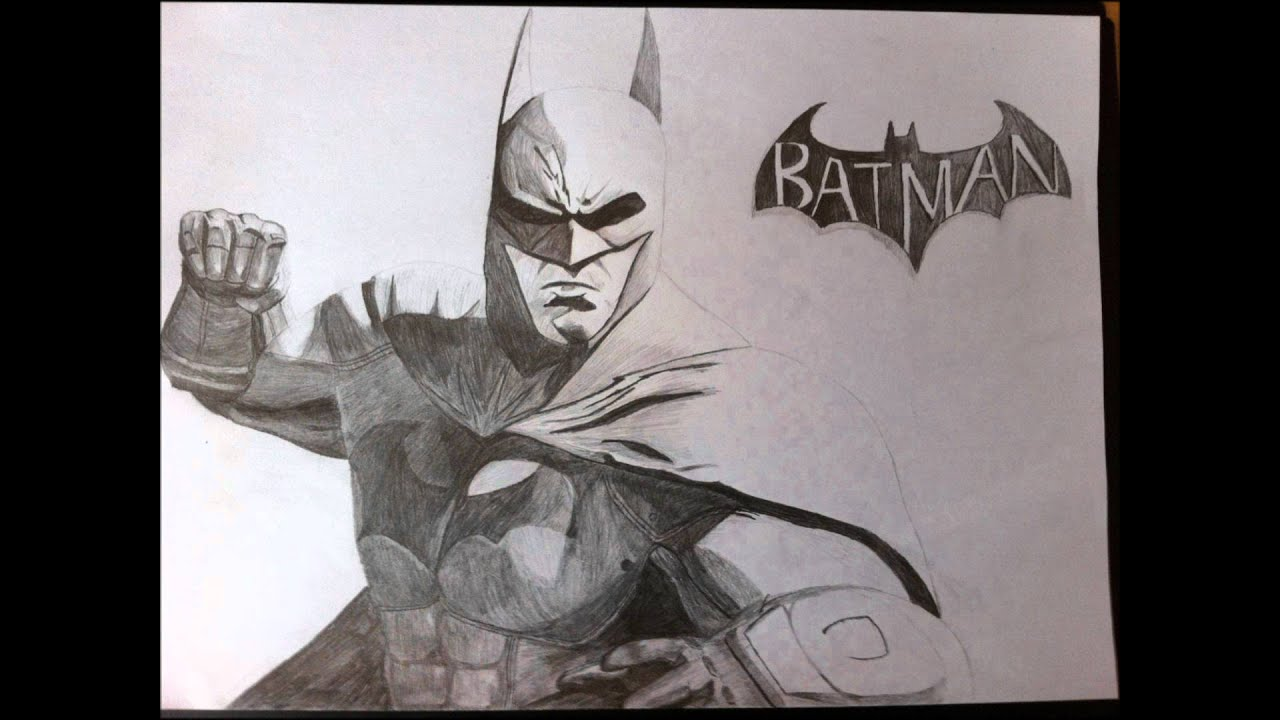 Batman Arkham City Drawing - YouTube