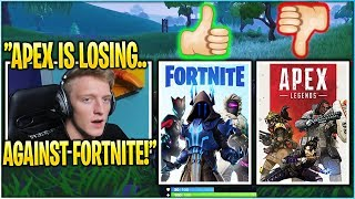 TFUE EXPLAINS WHY FORTNITE WILL NOT DIE VS APEX LEGENDS!