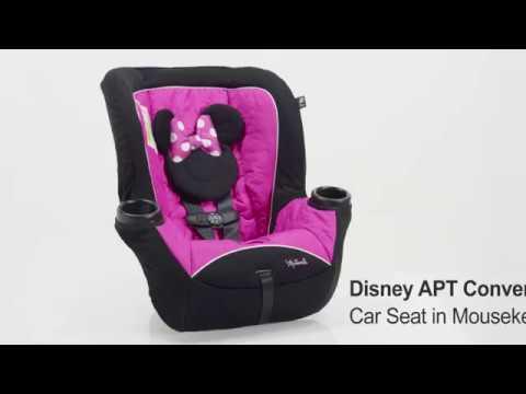 Disney APT Convertible Car Seat, Mouseketeer Minnie Convertible Car Seat
