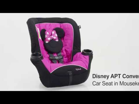 Disney APT Convertible Car Seat Mouseketeer Minnie